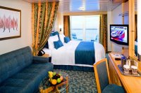 Deluxe Oceanview Stateroom with Balcony on Liberty