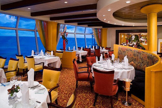 Portofino – Romantic specialty restaurant offering Italian cuisine