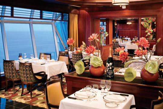 Freedom of The Seas Chops Grille Restaurant