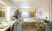 Superior Oceanview Stateroom (Obstructed Views)