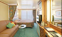 Larger Oceanview Stateroom